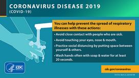 COVID-19 prevention CDC