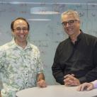 YINS Co-directors Daniel Spielman & Nicholas Christakis